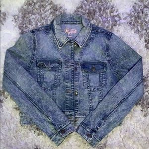 Guess Acid Wash Denim Jacket